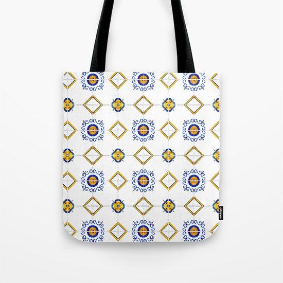 Majolica pattern Tote Bag