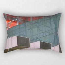 Manhattan Windows - Construction Rectangular Pillow