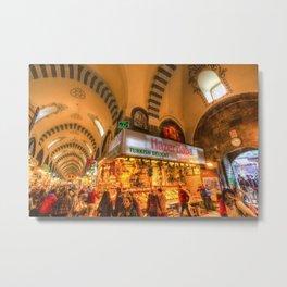 Spice Bazaar Istanbul Metal Print