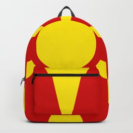 Flag of Macedonia Backpack