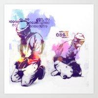new order Art Prints featuring NEW ORDER by Ƃuıuǝddɐɥ-sı-plɹoʍ-ɹǝɥʇouɐ