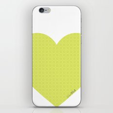 I love you this much... (green) iPhone Skin