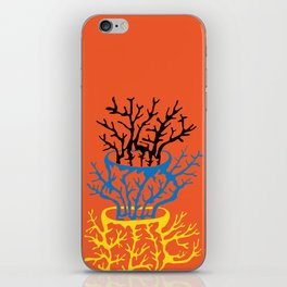 matisse coral iPhone Skin