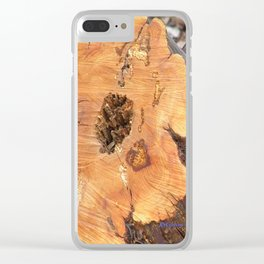 TEXTURES - Manzanita in Drought Conditions #2 Clear iPhone Case