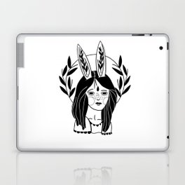 Rabbit Girl Laptop & iPad Skin