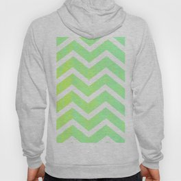 Patterned Chevron (Lime) Hoody