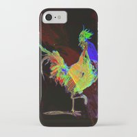 rooster iPhone & iPod Cases featuring ROOSTER by mimulux
