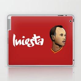 Andrés Iniesta Laptop & iPad Skin