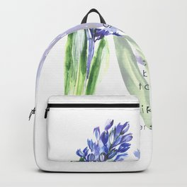 Hyacinth flowers Backpack