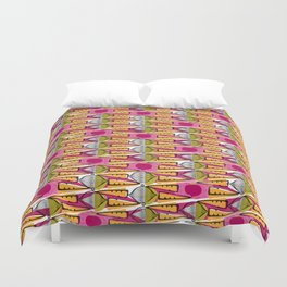 African carrots and beets Duvet Cover