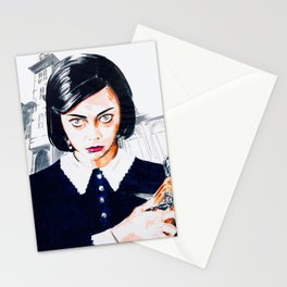Wednesday Addams Family Musical Stationery Cards