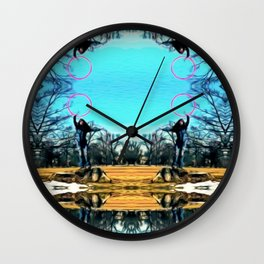 A Chill in the Air Wall Clock