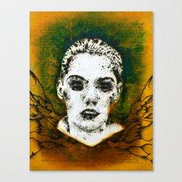 Wings Series One (Angel) Canvas Print