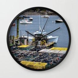 Benard Harbor 3 Wall Clock