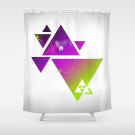 Triangulation Shower Curtain