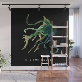 A is for Aboleth Wall Mural