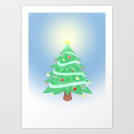 Christmas Morning Art Print