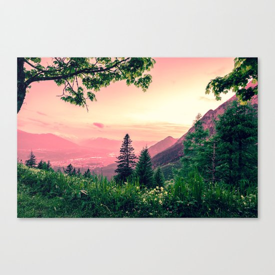 Alpine Fairytale Canvas Print