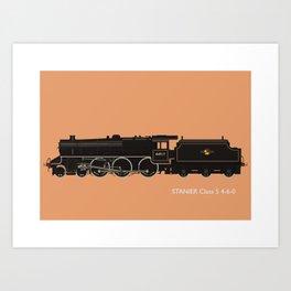 Stanier Black 5 4-6-0 Art Print