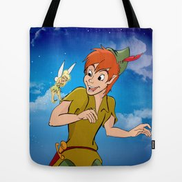 Off To Neverland Tote Bag