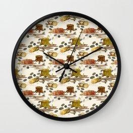 Woodlouse Wandering Wall Clock