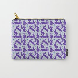 Bunny love - Purple Carrot edition Carry-All Pouch