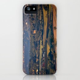 Italian countryside view iPhone Case