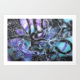 Abstractions in Nature 1 Art Print