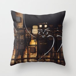 Gentelman Throw Pillow