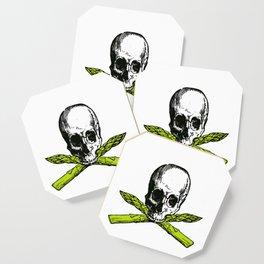 skull asparagus Coaster