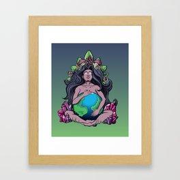 Mother Ayahuasca Framed Art Print