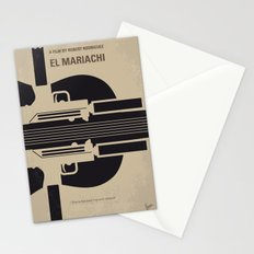 No445 My El mariachi minimal movie poster Stationery Cards