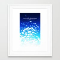 martell Framed Art Prints featuring Under the Same Sky by G Martell