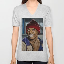 Dave Chappell as Tyrone Biggums Unisex V-Neck