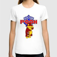 pooh T-shirts featuring Doctor Pooh by cû3ik designs