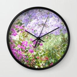 Bulawayo Jacarandas Wall Clock