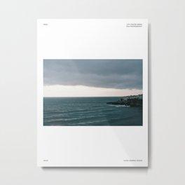 Ocean film photography poster, Sea print, Nature wall art, Spain Nerja 35mm city poster,  Metal Print