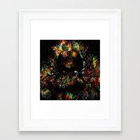 vader Framed Art Prints featuring Vader by ururuty