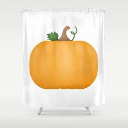 Pumpkin Shower Curtain