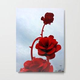 City Park Roses Metal Print