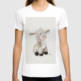 Cuddly Donkey Watercolor T-shirt
