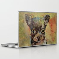 chihuahua Laptop & iPad Skins featuring Chihuahua by Michael Creese