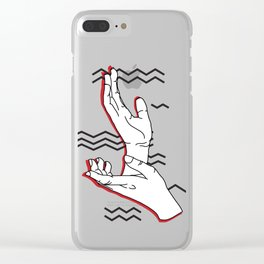 Meanwhile Clear iPhone Case