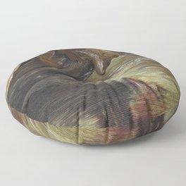 Curious Reflection Floor Pillow