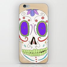 Candied Skull iPhone & iPod Skin