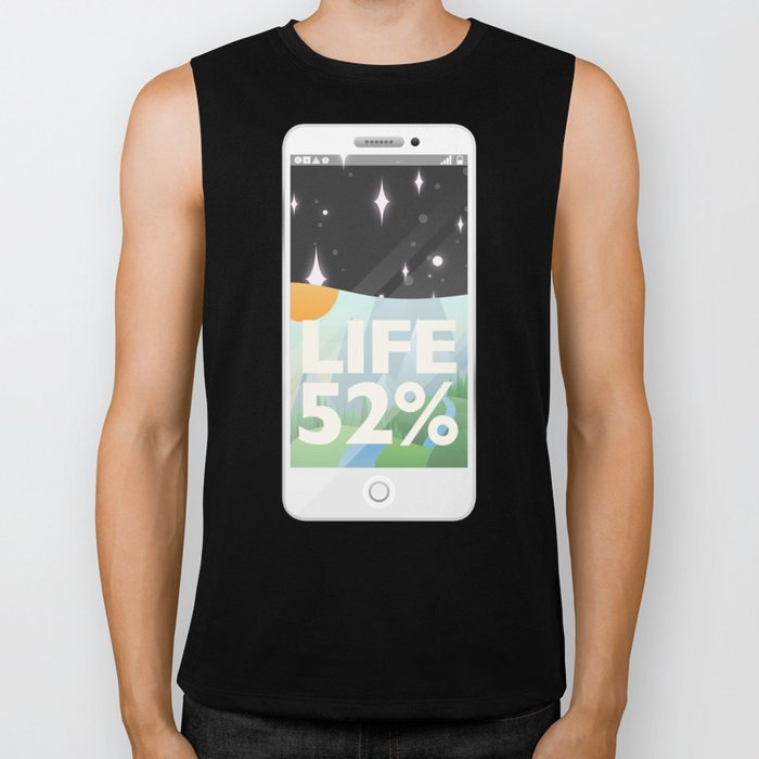 Charge Your Life Biker Tank