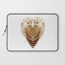 Owl Heart Laptop Sleeve