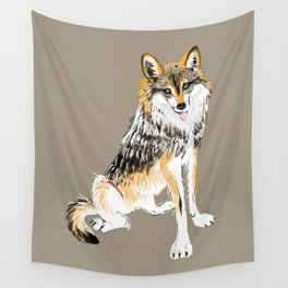 Mexican Wolf #1 Wall Tapestry
