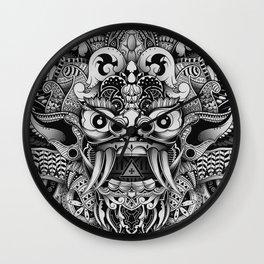 Barong Bali Wall Clock