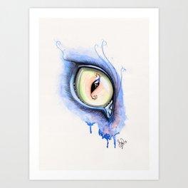 Cat Eye I Art Print